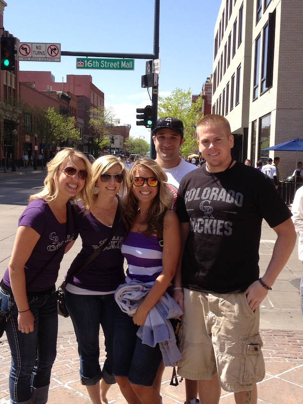 16Th Street Mall Denver - Coors Field pre-game