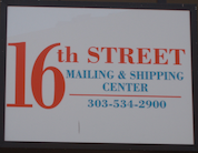 16Th Street Mailing & Shipping Center
