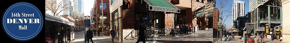 16Th Street Mall Denver Attractions