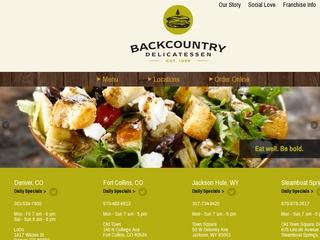 Backcountry Provisions